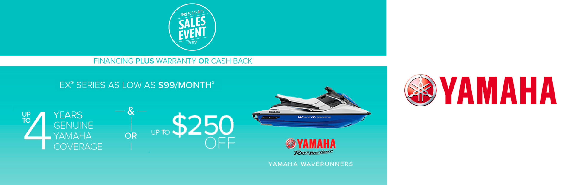 Yamaha: Perfect Choice - EX Series As Low As $99/Month